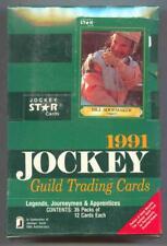 1991 Jockey Star Guild Horse Racing Box