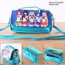 Sailor moon Anime PU Tasche Tragtasche Kosmetiktasche Schlamper Geldbeutel Etui