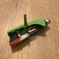 Jade Green Headshell w/HighOutput Stereo Moving Magnet Cartridge,Diamond Stylus!