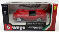 Burago 1/43 Scale Model Car 18-36000 - Ferrari 250 Testa Rossa - Red