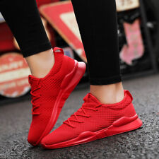 Womens knit Running Athletic Sneakers Sports Casual Breathable Shoes Fashion