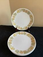 "SET OF 4 Noritake Progressions SUNNY SIDE 8-3/8"" Salad Plates"