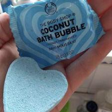 NEW The Body Shop Coconut Fragranced Bath Bubble 28g Limited Edition Heart Bomb