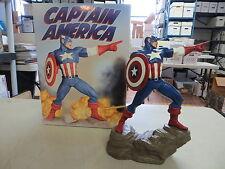 HARD HERO CAPTAIN AMERICA STATUE AVENGERS MARVEL