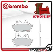 Brembo SP Pastiglie freno sinter posteriori Harley Davidson 1450 Fat boy 2000>