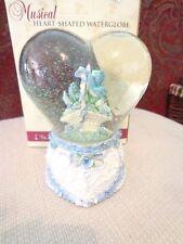 Classic Treasures Heart Shaped Water Globe