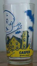 Casper Ghost Pepsi Glass Harvey Cartoons Fast Food Collector's drinking glass