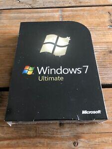 Windows 7 Ultimate, Retail Vollversion, 32+64 Bit, Deutsch mit MwSt Rechnung
