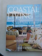 """Coastal Living Magazine March-April 2003 """"5 Beach Home Makeovers"""" - USED"""