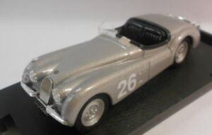 Brumm 1/43 Scale Metal Model - R101 JAGUAR XK120 S.MOSS SILVERSTONE 1951
