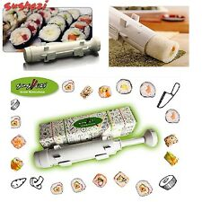 Sushi Maker Set Sushezi Kit Roll Bazooka Tub Easy Home Made Gourmet Cooking Food