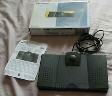 More details for grundig 536 foot control pedal for dictation transcriber with box & instructions