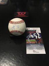 Jose Berrios Twins Autographed Baseball Ball JSA Certified