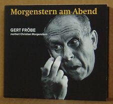 CD Morgenstern am Abend Gert Fröbe rezitiert Christian Morgenstern  Kein & Aber