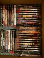 51 Playstation 3 Games PS3 Game Lot , GTA God Of War Uncharted, Cases + Manuals