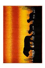Arte Espina Kinderteppich König Der Löwen Löwen Teppich Rot Gelb Schwarz