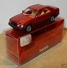 MICRO HERPA HO 1/87 MERCEDES-BENZ E 320 MALVA IN BOX