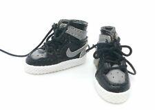 SU-SNK-AJ1-BK: 1/12 Custom Black/Grey AJ1 sneaker for TBLeague TM01A TM02A body