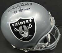 Jim Plunkett Hand Signed Autographed Full Size Authentic Radiers Helmet PSA