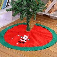 Weihnachtsbaum Rock Christbaum Deko Weihnachten Baum Unterlage Santa Ornament