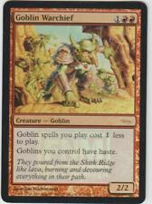 ►Magic-Style◄ MTG - Goblin Warchief / Chef de guerre gobelin - FOIL - FNM - NM