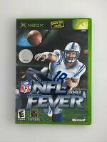 NFL Fever 2002 - Original Xbox Game - Complete & Tested