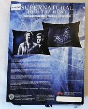 """New Supernatural Sam Dean Winchester Brothers Pillow Case Set 20"""" x 30"""" 2 Pack"""