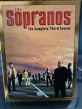 The Sopranos: Season 3 With Slip Cover 4 Disc Dvd Box Set Set Shelf