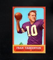 11020* 1963 Topps # 98 Fran Tarkenton NM-MT