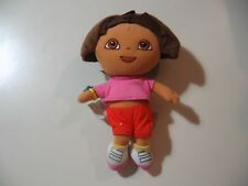 "8"" plush bean bag Dora the Explorer doll, good condition"
