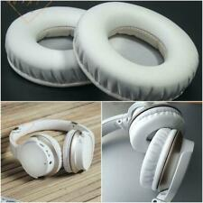 White Color Thick Memory Ear Pads Cushion For Audio-Technica ATH-AR3BT Headphone