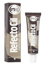 RefectoCil Natural Brown 3 Eyelash and Eyebrow Tint 15ml