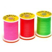 Fly Tying Floss, Glo Bright Floss, TWO SPOOLS, 25 yard spool, colour choice