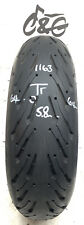 Michelin Road 5 2ct+   180/55zr17    Part Worn Motorcycle Tyre 1163
