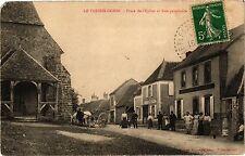 CPA  Le Plessis-Dorin - Place de l'Eglise et Rue principale  (208890)