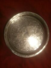 """Fb Rogers Serving Tray 13"""" Across"""
