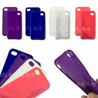 TPU S LINE WAVE SOFT SILICON RUBBER GEL SKIN CASE COVER FOR iPHONE 5S 5G