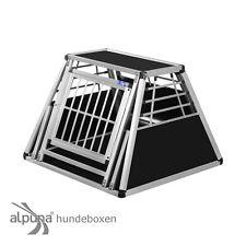 N29 Hundetransportbox Gitterbox Aluminio Transportín Perro Alubox Caja Coche