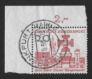 1958  GERMANY The 1000th Anniversary of the Trier (FBX)