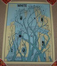 JACK WHITE concert gig poster MONTREAL 2014 8-2-14 LAZARETTO stripes third man