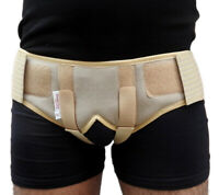 HERNIA BELT - DOUBLE INGUNIAL GROIN HERNIA SUPPORT TRUSS BRACE WITH TWO REMOVAVL