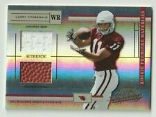 LARRY FITZGERALD 2004 Playoff Absolute Memorabilia #201 Jersey/Ball SP RC #/750