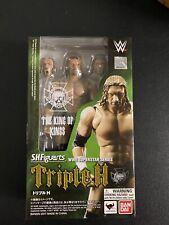 Triple H King of Kings - WWE S.H. Figuarts Bandai Vintage WWF Wrestling Figure