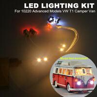 USB LED Licht Beleuchtung Kit Für LEGO 10220 Advanced Modell VW T1 Camper Van