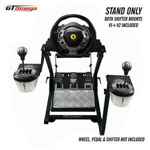 GT Omega Gaming Wheel stand PRO for Thrustmaster TX Racing F458, TH8A Shifter V2
