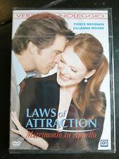 LAWS OF ATTRACTION  MATRIMONIO IN APPELLO DVD NUOVO SIGILLATO ITALIANO