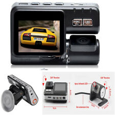 1080P HD Dual Lens Car SUV DVR Camera Video Record G Sensor Cam +Remote control
