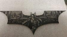 batman begins laser etched batarang