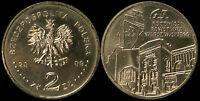 Pologne. 2 Zloty. 2009 (Pièce KM#Y.687 Neuf) L'Insurrection de Varsovie