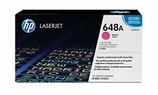 Hewlett-Packard 648A Toner / Part #: CE263A / Color: MAGENTA / NEW SEALED OEM